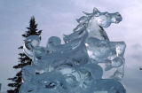 Ice Sculpture, Anchorage, AK.