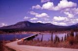 Teslin Lake Alaska Highway.