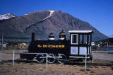 Narrow gauge railroad at Carcross-Alaska Highway