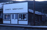 Lowe's Mortuary, Dawson City.