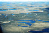 The winding Kobuk River.