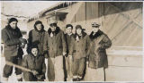 Men who served in D Company on Kodiak.