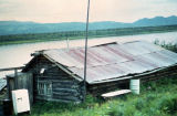 Trapper's cabin Ruby on Yukon River.