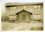 A Hospital at Fort Yukon Alaska 1926.