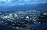 Aerial view Anchorage.