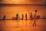 Kids in the gym.