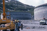 Oil Tank Farm construction, Valdez.
