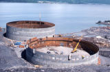 West Tanks under construction LKGN – Valdez.