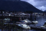 View of the harbor in Sitka.