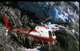 Helicopter. Mendenhall Glacier. Aug. Near Juneau, AK.