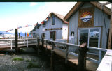 Homer, Alaska. August. Shops on Spit.