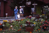 Dottie & Cathie Burdick at Alyeska Resort. Flowers.