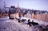 Iditarod. Eagle River gate.