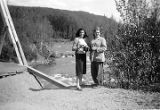Wilma Eckert and Alice Dieterich Eagle River.