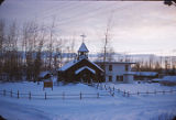 Nenana. St. Marks Mission church.