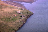 Arctic Coast. Fish Camp.