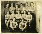 Anchorage High school basketball team, 1930.