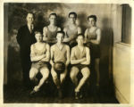 Part of Anchorage High school basketball team, 1930.