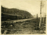 """Sourdough"" Train at Mile 132 Mainline, A.E.C.R.Y. May 19-17."""