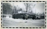 Greyhound Lines Northwest Service Command, U.S.A. Buses.
