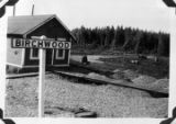 Birchwood railroad depot.