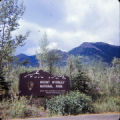 Entrance to Mt. McKinley National Park.