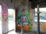 Graffiti at Ship Creek.