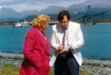 Arliss with Chris Gates, Seward, July 1990.