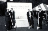 Ground breaking ceremony of Alyeska Prince Hotel.