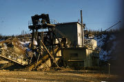 Probably the USSR & M dredge on Engineer Creek north of Fairbanks.