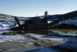 USSR & M dredge then in operation on lower Fairbanks Creek.