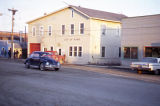 Front Street scene in evening. Nome.