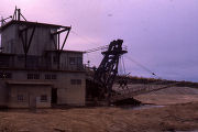 Not absolutely sure but believe this is the USSR & M dredge on lower Engineer Creek; then...