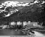 The Bunker Building at Whittier, Alaska.