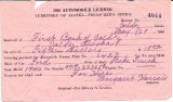 1940 Automobile License.