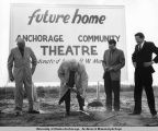 Anchorage Community Theatre groundbreaking.