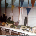 State Fair scenes; Sep. 1972. Agricultural produce.