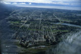 Aerial photograph of Anchorage.