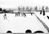 Anchorage's first hockey team, 1935.
