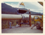 Pipeline construction.