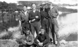 Men at Carcross, Alaska.
