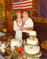 Jane Angvik and Vic Fischer wedding.