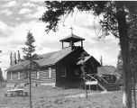 St. Stephens Episcopal Church, Ft. Yukon, 1963.