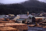 Ketchikan Spruce Mill - cut lumber.