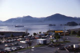 Cruise ships Anchor in Sitka Sound.