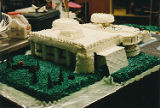 Cake for opening of Loussac Library.