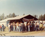 State Fair parade, grounds and exhibits, Sep. 1978. The Rat Race.