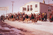 Beaver Round Up Sled Dog Races.