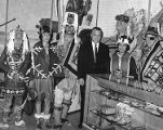Gov. Hickel, Chilkat Dancers.