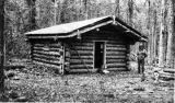 Andy Taylor built this cabin near McCarthy.